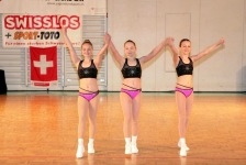 Lina Brosi, Anastasia Dittli, Sarina Strecke : SA Team cadet